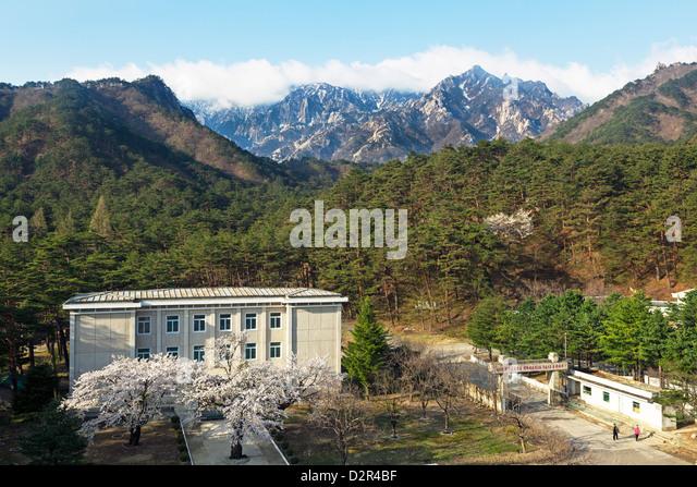 Südkoreanische entwickelten Resort-Komplex, Kumgang-Gebirge, Demokratische Volksrepublik Korea (DVRK), Nordkorea, Stockbild