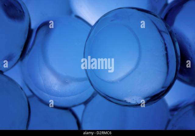 Luftblasen. Abstrakte Wasser Hintergründe Stockbild