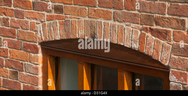 arch window frame with brick stockfotos arch window frame with brick bilder alamy. Black Bedroom Furniture Sets. Home Design Ideas