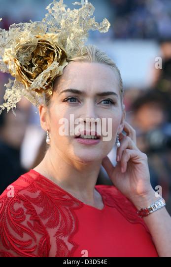 Hong Kong, China, Kate Winslet, Schauspielerin Stockbild