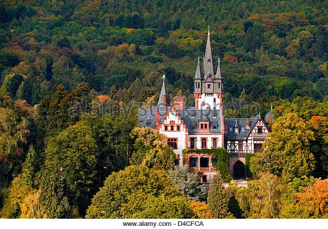 Villa Andreae, Königstein Im Taunus, Deutschland Stockbild