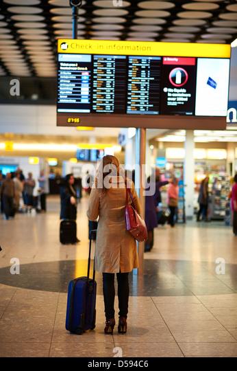Traveller Stockbild