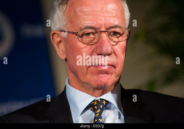 Dr. Jürgen Weber, Vorsitzender des Aufsichtsrats Deutsche Lufthansa. Stockbild