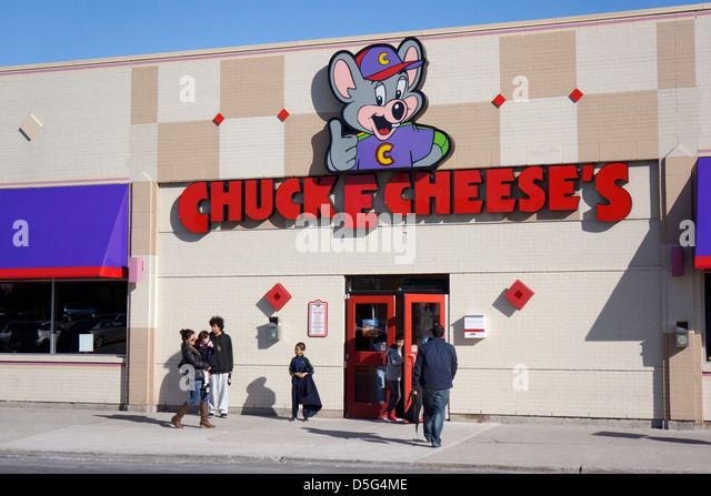 Chuck E Cheese Restaurant Stockbild