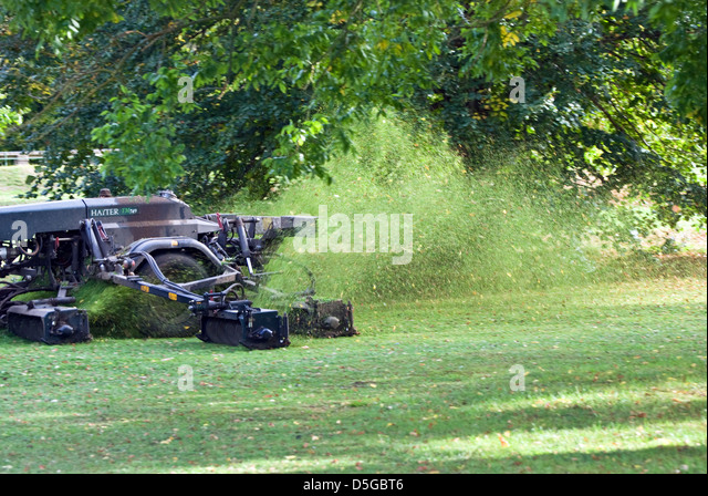 grass cutting machine stockfotos grass cutting machine. Black Bedroom Furniture Sets. Home Design Ideas