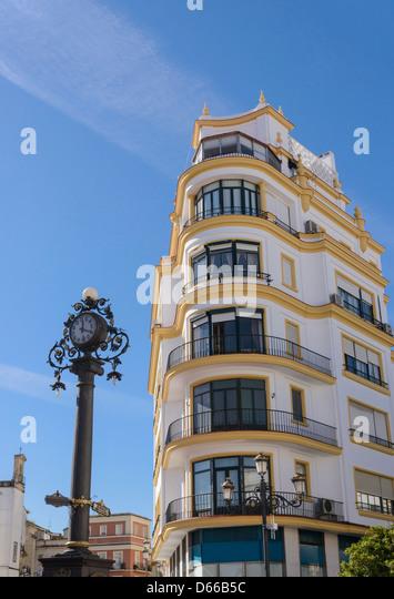 Stadtzentrum von Jerez De La Frontera Andalusien Spanien Europa Stockbild