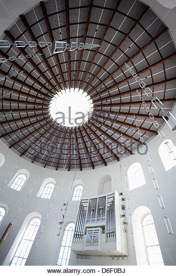 Paulskirche Frankfurt-Innenarchitektur Stockbild