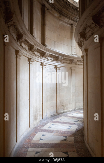 Kathedrale von Sevilla Durchgang, Sevilla, Andalusien, Spanien, Europa Stockbild