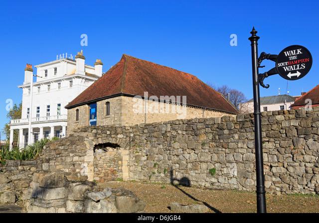Die Wolle House, Southampton, Hampshire, England, Vereinigtes Königreich, Europa Stockbild