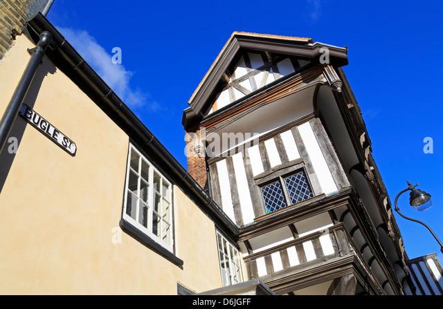 Tudor House Museum, Southampton, Hampshire, England, Vereinigtes Königreich, Europa Stockbild