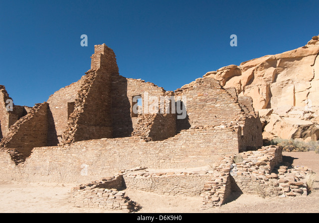 Chaco Kultur-nationaler historischer Park, UNESCO World Heritage Site, New Mexiko, Deutschland, Nordamerika Stockbild