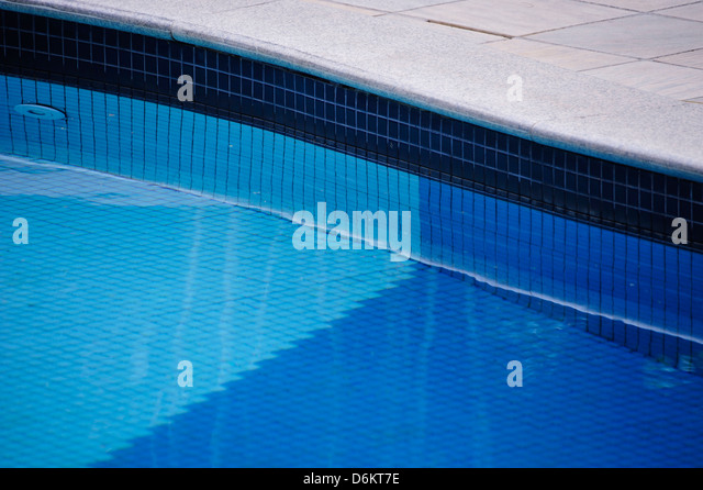 Schwimmbad in Arraial d ' Ajuda, Bahia. Stockbild