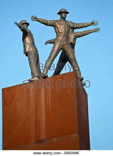 Tschechien, Prag, Denkmal für Operation Anthropoid Stockbild