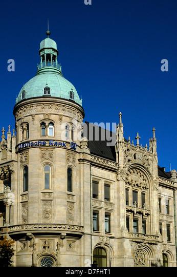 Deutschland, Hannover, das Haus von deutsche Bank, Deutsche Bank Stockbild