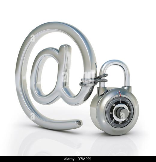 Internet-Sicherheit, konzeptuellen Kunstwerk Stockbild