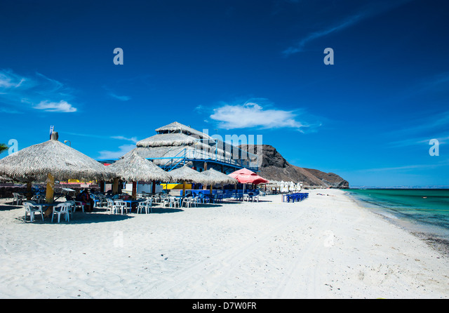 Playa Tecolote, Baja California, Mexiko Stockbild