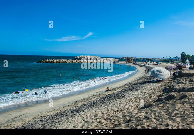 Strand in Puerto Los Cabos Teil von San Jose del Cabo, Baja California, Mexiko Stockbild
