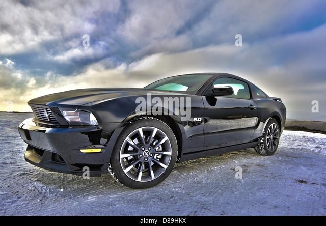 Ford Mustang Auto Auto Muskel-Auto Sportcoupé Stockbild