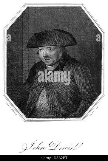 John Dowie Antiquar Stockbild