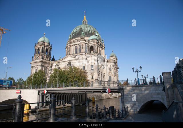 Berliner Dom Dom, Berlin, Deutschland Stockbild