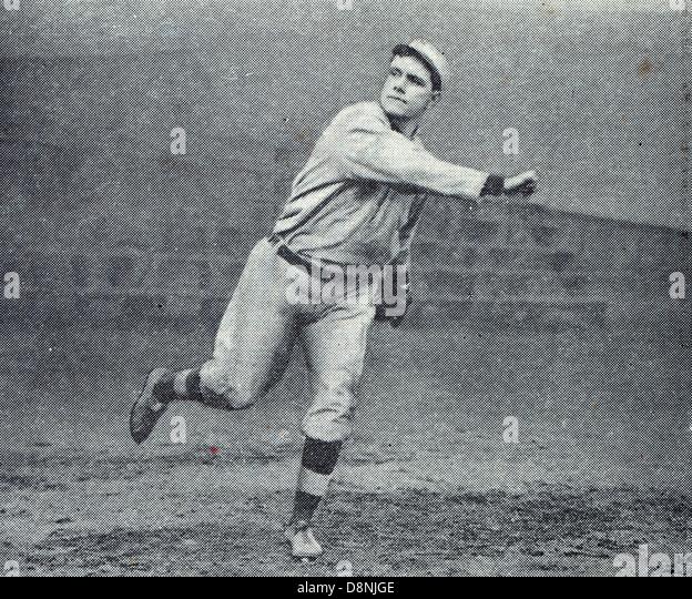 Russell Ford, Baseballspieler Stockbild
