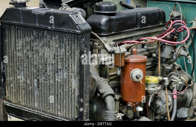 veraltete alten Motor Stockbild