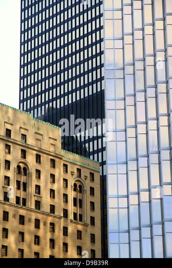 Verschiedene architektonische Stile Stockbild