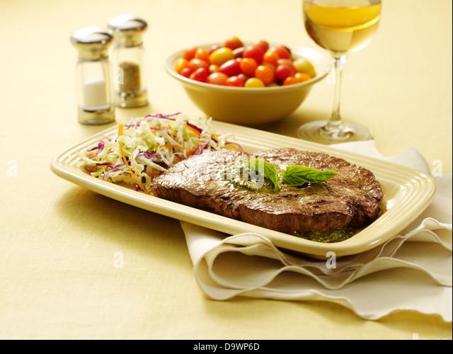 Chuck-Steak in Szene Stockbild