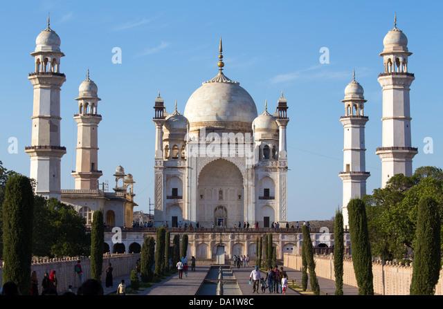 Bibi-Ka Maqbara, Aurangabad, Indien Stockbild