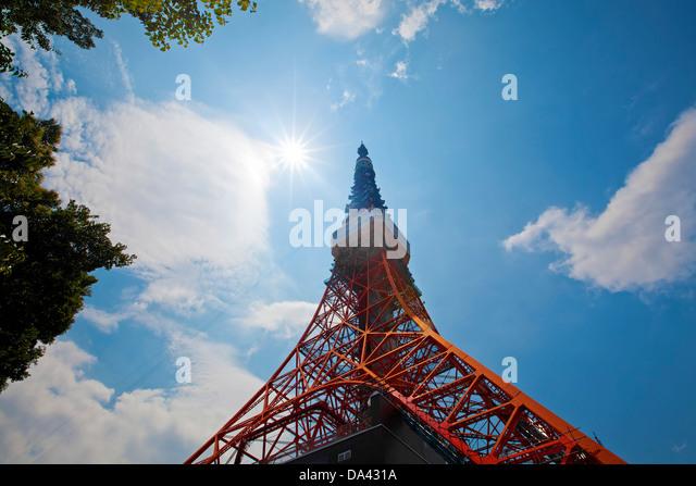 Tokyo Tower Stockbild