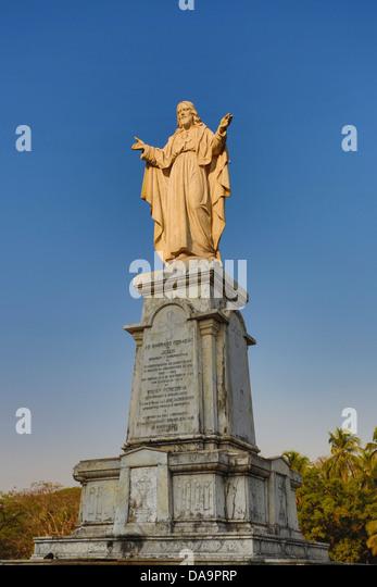Indien, Süd-Indien, Asien, Goa, Stadt, Weltkulturerbe, Heiligen Herzen, Denkmal, Welterbe, berühmt, Religion, Stockbild