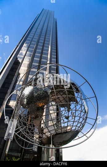 Trump International Towers, Columbus Circle, Manhattan, New York City, USA. Stockbild