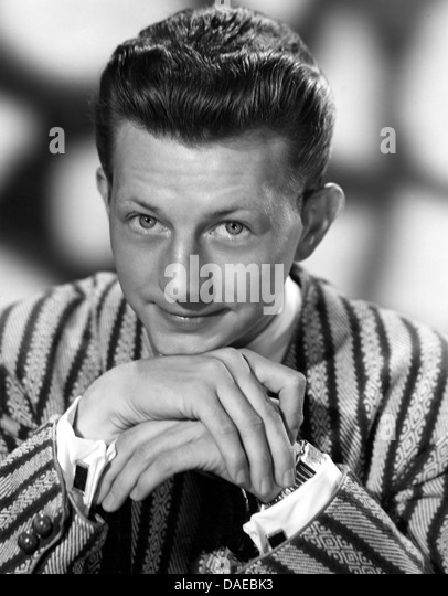 Donald O'Conner, Portrait, 1953 Stockbild