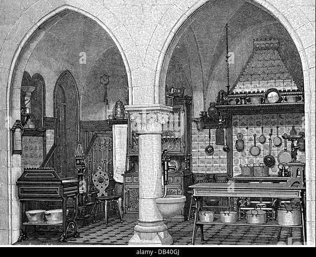 Appliances kitchen 19th century stockfotos appliances - Antike mobel hannover ...