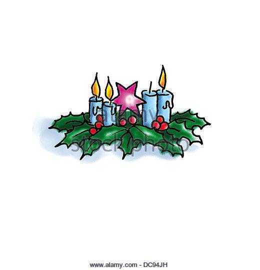 Advent 2 Stockbild