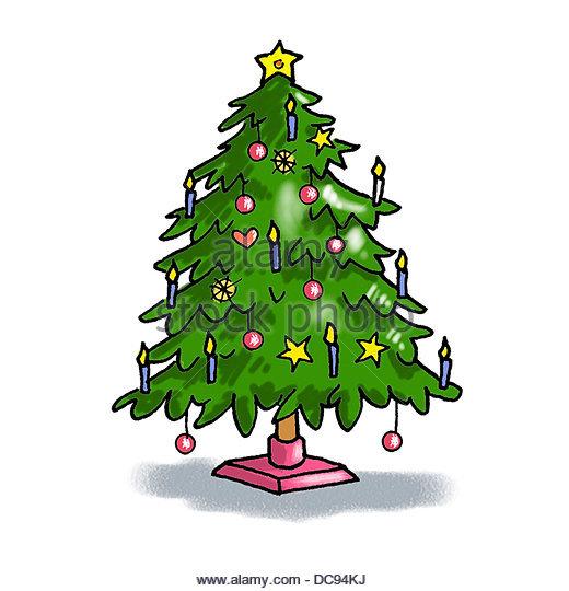 Weihnachtsbaum 3 Stockbild
