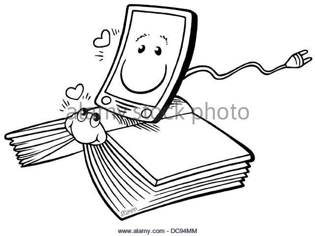 eBook & Print 2 Stockbild