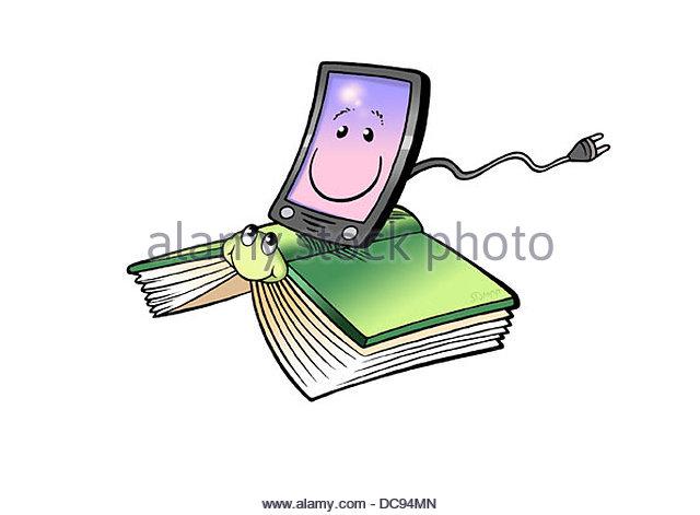 eBook & Print 1 Stockbild