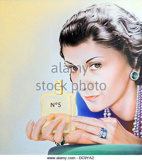Coco Chanel Stockbild
