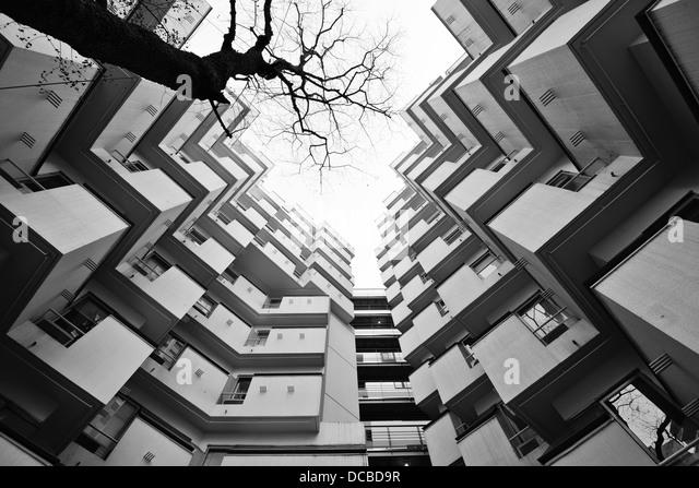 Moderne architektonische Details. Stockbild
