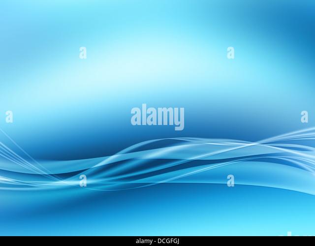 abstrakte Grafik Blau Stockbild
