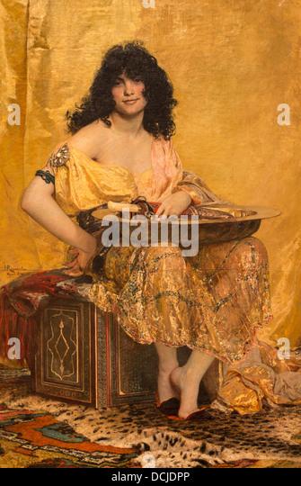 19. Jahrhundert - Salome, 1870 - Henri Regnault Philippe Sauvan-Magnet / aktive Museum Stockbild