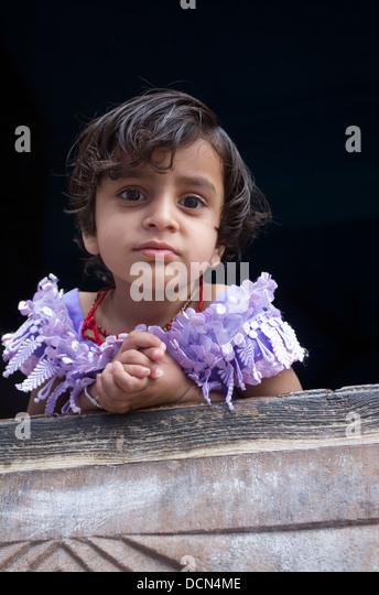 Indisches Kind - Jodhpur, Rajashtan, Indien Stockbild