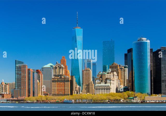 One World Trade Center New York City Stockbild