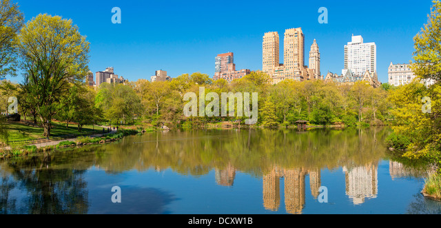 New York City, Central Park Stockbild