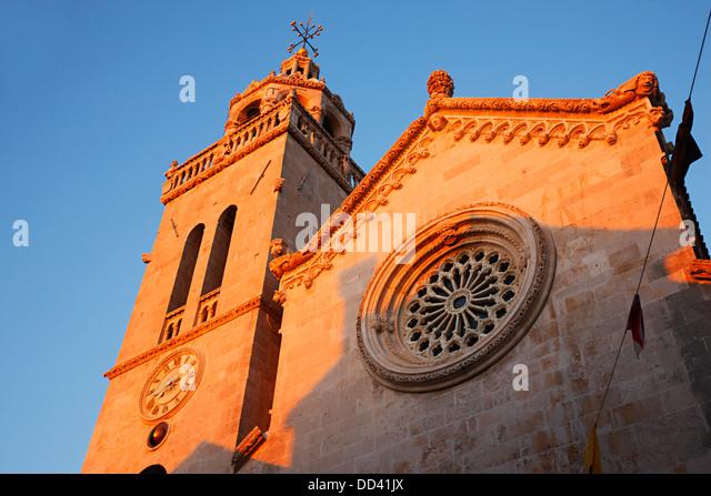 Korcula Kirche von St.Marko Stockbild