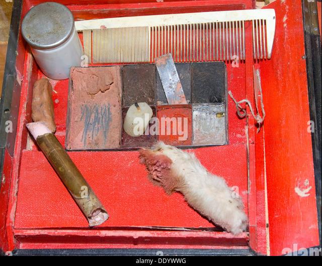 Make up Box, 19. Jahrhundert. Stockbild