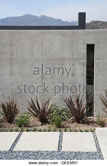 Äußere modernen Hauses Stockbild