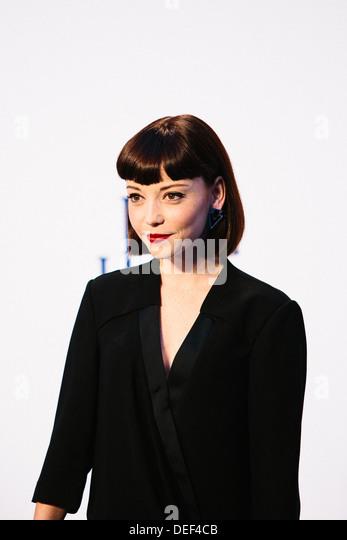 "Marama Corlett ""Blaue Jasmin"" - UK Film Premiere - roten Teppich Ankünfte Stockbild"