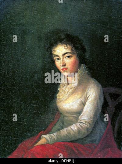 Constanze Mozart Stockbild